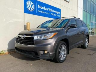 Used 2015 Toyota Highlander XLE AWD - LEATHER / SUNROOF / LOADED for sale in Edmonton, AB