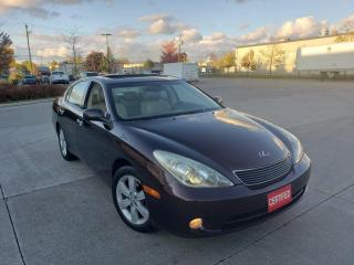 Used 2005 Lexus ES 330 Automatic, Leather, roof, 3/Y Warranty Availa for sale in Toronto, ON