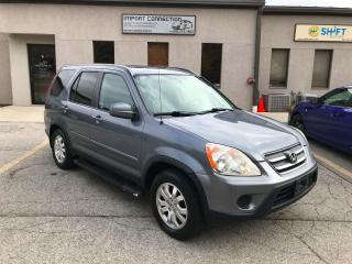 Used 2006 Honda CR-V 4WD EX-L Auto,LEATHER,SUNROOF,CERTIFIED!! for sale in Burlington, ON