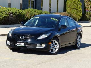 Used 2010 Mazda MAZDA6 LEATHER,GT,BOSE AUDIO,FULLY LOADED,CERTIFIED,LOWKM for sale in Mississauga, ON