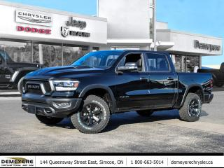New 2021 RAM 1500 NIGHT EDITION REBEL | 0% PLUS $1250 BONUS CASH OFF for sale in Simcoe, ON