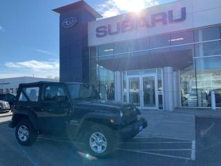 Used 2018 Jeep Wrangler SPORT for sale in North Bay, ON