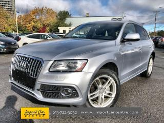 Used 2017 Audi Q5 2.0T Technik S-LINE SPORTS PKG  LEATHER  PANO ROOF for sale in Ottawa, ON