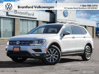 Used 2018 Volkswagen Tiguan Comfortline 2.0T 8sp at w/Tip 4MOTION (2) for sale in Brantford, ON