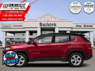 Used 2018 Jeep Compass Limited - Leather Seats -  Bluetooth for sale in Selkirk, MB