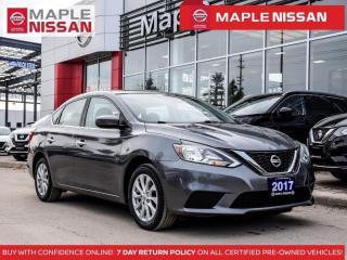 Used 2017 Nissan Sentra 1.8 SV Bluetooth Backup Camera Push Start A/C for sale in Maple, ON