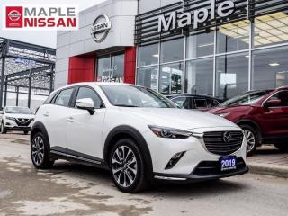 Used 2019 Mazda CX-3 GT AWD Navi Moonroof Remote Start Bluetooth for sale in Maple, ON