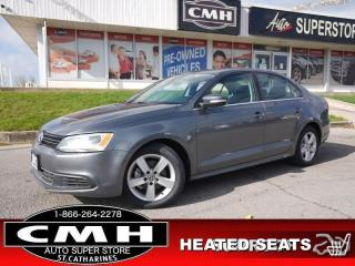 Used 2012 Volkswagen Jetta Comfortline  MANUAL HTD-SEATS PWR-GROUP for sale in St. Catharines, ON