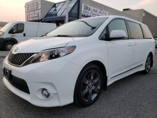 Used 2011 Toyota Sienna SE 8 Passenger 8 PASSENGER|LEATHER|POWER DOORS|CERTIFIED for sale in Concord, ON