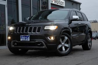 Used 2014 Jeep Grand Cherokee Overland for sale in Chatham, ON