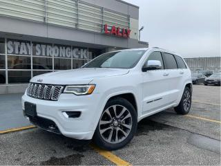 Used 2018 Jeep Grand Cherokee Overland #4x4 #NAV #ROOF #V6 #LOADED! for sale in Chatham, ON
