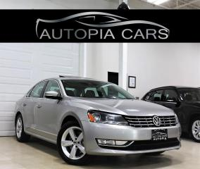 Used 2014 Volkswagen Passat 2.0 TDI COMFORTLINE DIESEL ACCIDENT FREE ALLOY for sale in North York, ON