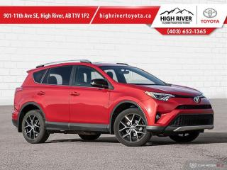 Used 2016 Toyota RAV4 SE  - Navigation -  Sunroof -  Leather Seats for sale in High River, AB