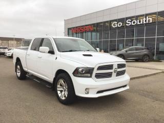 Used 2015 RAM 1500 SPORT, CREW CAB, 4WD for sale in Edmonton, AB