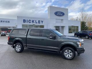Used 2018 Ford F-150 XLT w/PREMIUM LEATHER, TOW PKG, MATCHING LEER CAP for sale in Huntsville, ON