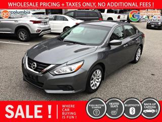 Used 2018 Nissan Altima 2.5 - Accident Free / No Dealer Fees for sale in Richmond, BC