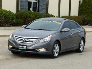Used 2012 Hyundai Sonata NAVIGATION PKG,LEATHER,REAR-CAM,1-OWNER,CERTIFIED for sale in Mississauga, ON