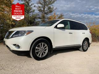 Used 2016 Nissan Pathfinder 4WD SL *NAVIGATION - DUAL SUNROOF - HTD LEATHER* for sale in Winnipeg, MB