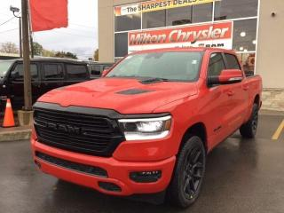New 2021 RAM 1500 SPORT 4X4 / NIGHT EDITION / PANO ROOF / POWER STEP for sale in Milton, ON