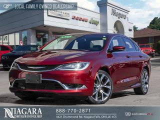 Used 2016 Chrysler 200 C | PANORAMIC ROOF for sale in Niagara Falls, ON