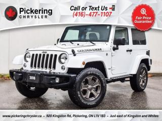 Used 2018 Jeep Wrangler JK Golden Eagle - Painted TOP/Manual/Screen/PWR Group for sale in Pickering, ON