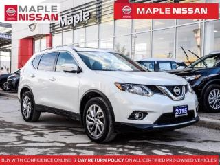 Used 2015 Nissan Rogue SL Platinum Navi Blind Spot Pano Moonroof 360 Cam for sale in Maple, ON