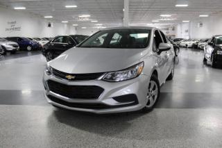 Used 2016 Chevrolet Cruze NO ACCIDENTS I BIG SCREEN I REAR CAM I POWER OPTIONS I BT for sale in Mississauga, ON