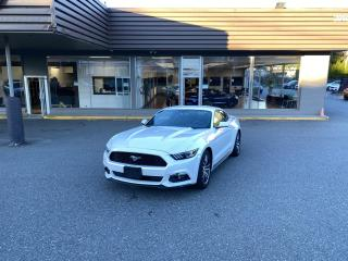 Used 2017 Ford Mustang ECOBOOST COUPE for sale in Langley, BC
