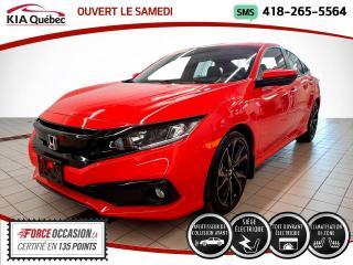 Used 2019 Honda Civic SPORT* CVT* TOIT* BIZONE* SIEGES CHAUFFA for sale in Québec, QC