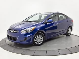 Used 2016 Hyundai Accent GL SIÈGES CHAUFFANTS BLUETOOTH for sale in Brossard, QC