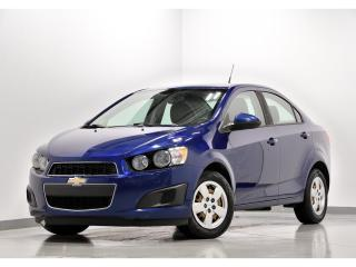 Used 2014 Chevrolet Sonic LS AIR CLIMATISÉ BLUETOOTH for sale in Brossard, QC