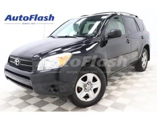 Used 2008 Toyota RAV4 2.5L *4CYL *AWD! *A/C *GR-ELECTRIQUE *CRUISE* for sale in St-Hubert, QC