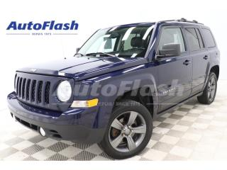 Used 2015 Jeep Patriot HIGH-ALTITUDE *TOIT-OUVRANT/SUNROOF *CUIR/LEATHER for sale in St-Hubert, QC