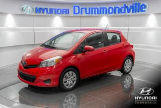 Used 2014 Toyota Yaris LE + GARANTIE + 54 461KM + WOW !! for sale in Drummondville, QC
