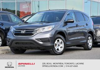 Used 2016 Honda CR-V LX DEAL PENDING AWD AWD BAS KM BLUETOOTH CRUISE for sale in Lachine, QC