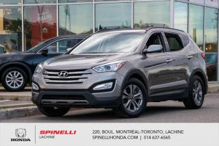 Used 2016 Hyundai Santa Fe Sport Premium FWD BAS KM FWD MAGS BLUETOOTH BAS KM++ for sale in Lachine, QC