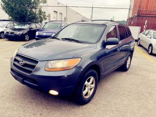 Used 2008 Hyundai Santa Fe AWD 4dr 3.3L Auto GLS 5-Pass/Trailer hitch & wire for sale in North York, ON