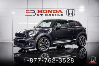 Used 2014 MINI Cooper Paceman S + ALL4 + MANUEL + PANO + WOW! for sale in St-Basile-le-Grand, QC
