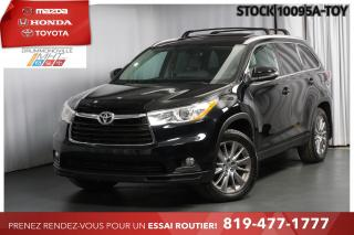 Used 2015 Toyota Highlander XLE| CUIR| TOIT| NAV for sale in Drummondville, QC