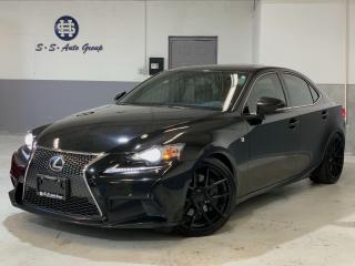 Used 2014 Lexus IS 350 F SPORT AWD|NAV|BACK UP|19 INCH BLK RIMS|ONE OWNER for sale in Oakville, ON