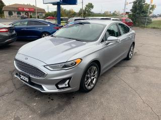 Used 2020 Ford Fusion Hybrid Titanium for sale in Brantford, ON