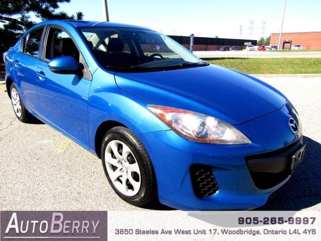 2013 Mazda MAZDA3 GX - 2.0L - Auto