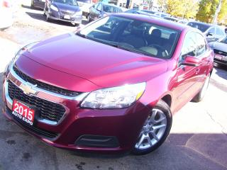 Used 2015 Chevrolet Malibu LT,BACKUP CAMERA,BLUETOOTH,CERTIFIED,CLEAN CARFAX for sale in Kitchener, ON
