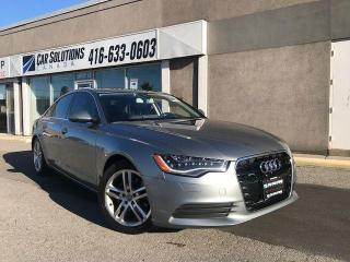Used 2013 Audi A6 2.0T Premium-Navigation-camera for sale in Toronto, ON
