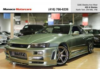 Used 1999 Nissan Skyline R34 GT-T - GTR NISMO KIT|BLITZ|HKS|RECARO for sale in North York, ON