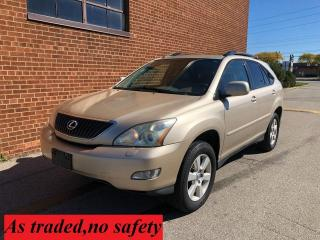 Used 2005 Lexus RX 330 DVD/NAVI/CAMERA /LEATHER/SUNROOF for sale in Oakville, ON