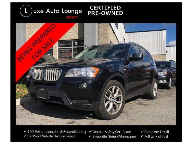 2012 BMW X3 28i, STRAIGHT 6 ENGINE, LEATHER, HEATED SEATS!!