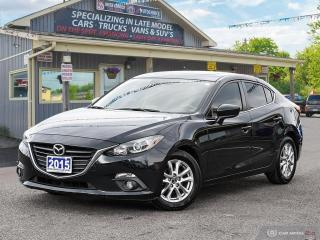 Used 2015 Mazda MAZDA3 GS,R/V CAM,PWR S/ROOF,HEATED SEATS,B.TOOTH for sale in Orillia, ON