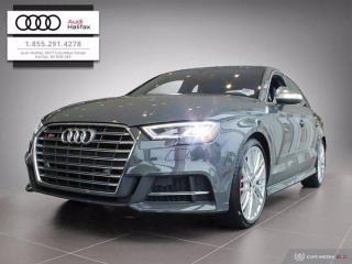 New 2020 Audi S3 Sedan Progressiv for sale in Halifax, NS