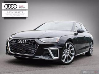 New 2020 Audi A4 Sedan TECHNIK for sale in Halifax, NS